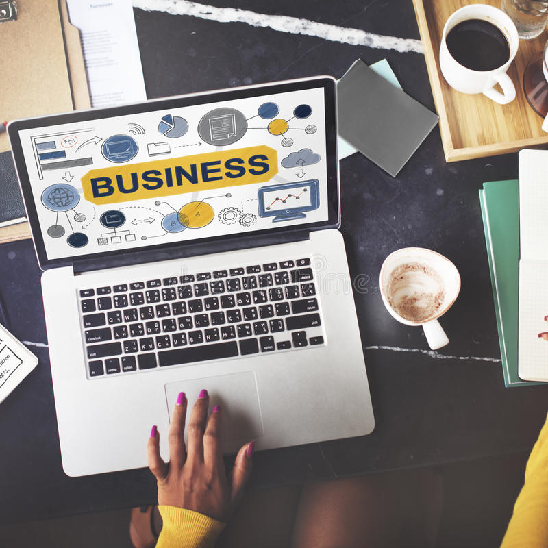 Concept de Startup Success Growth Company de stratégie commerciale photos stock