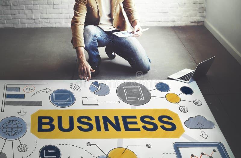 Concept de Startup Success Growth Company de stratégie commerciale image libre de droits