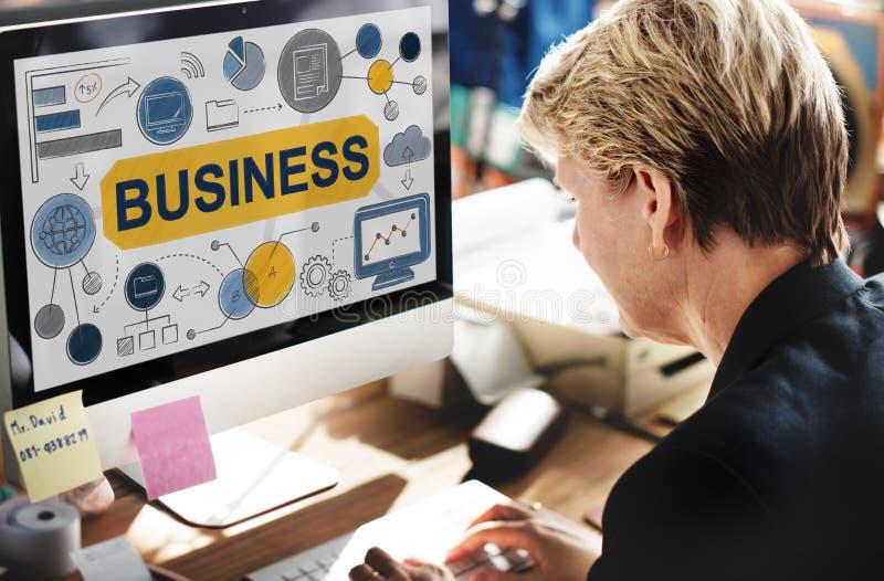 Concept de Startup Success Growth Company de stratégie commerciale photos libres de droits