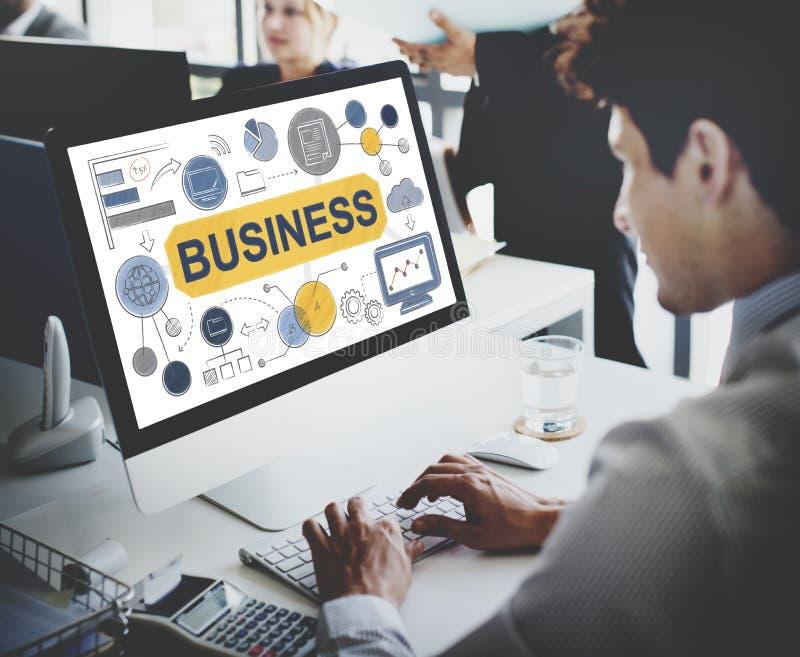 Concept de Startup Success Growth Company de stratégie commerciale photo libre de droits