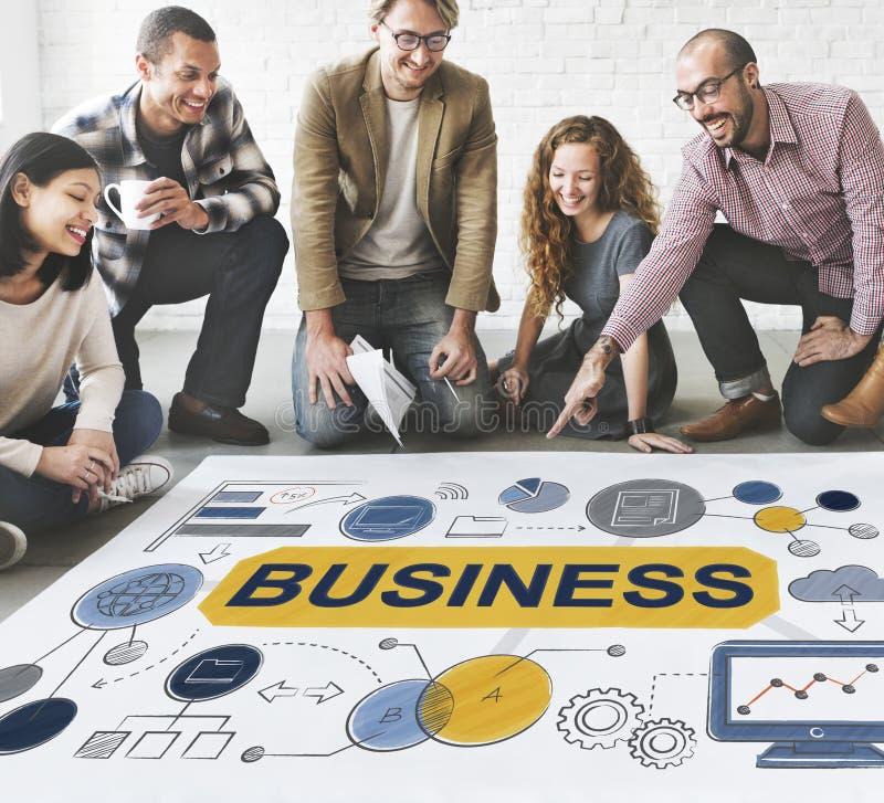 Concept de Startup Success Growth Company de stratégie commerciale images stock