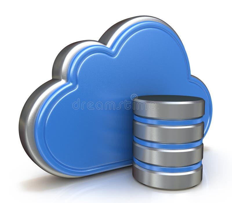 Concept de stockage de nuage illustration libre de droits