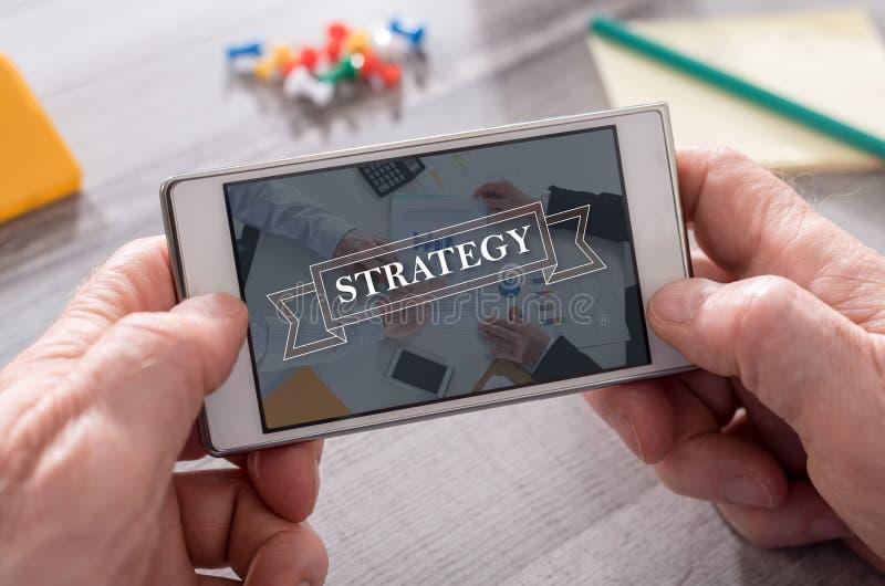 Concept de stratégie photos stock