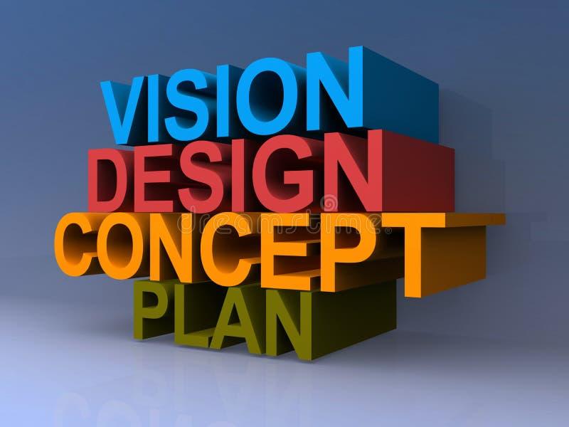 Concept de stratégie commerciale illustration de vecteur