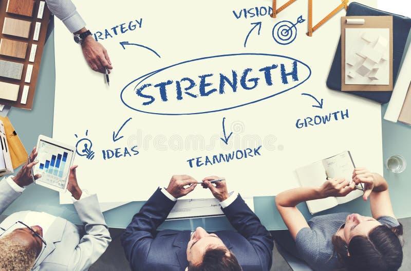 Concept de stratégie de croissance d'affaires photo libre de droits