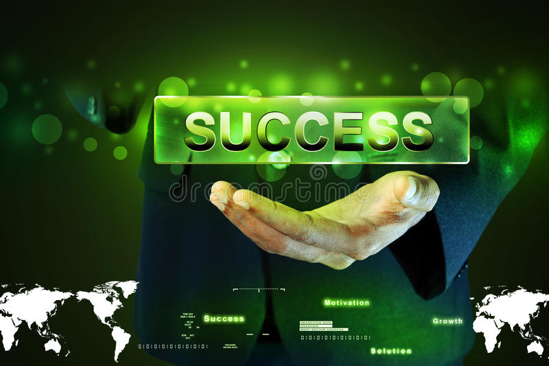 Concept de succès illustration de vecteur