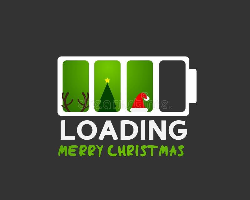 Concept de symboles de Joyeux Noël illustration de vecteur