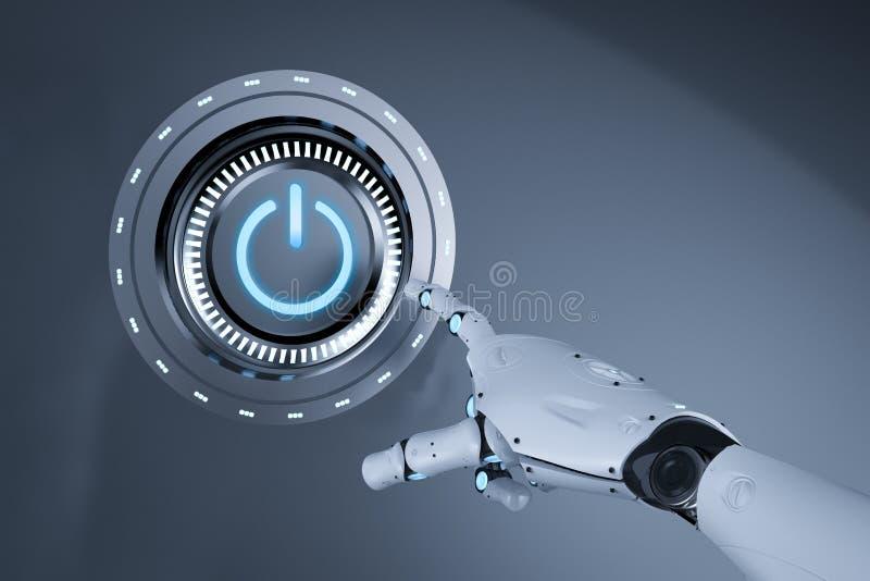 Concept de technologie d'automation illustration de vecteur