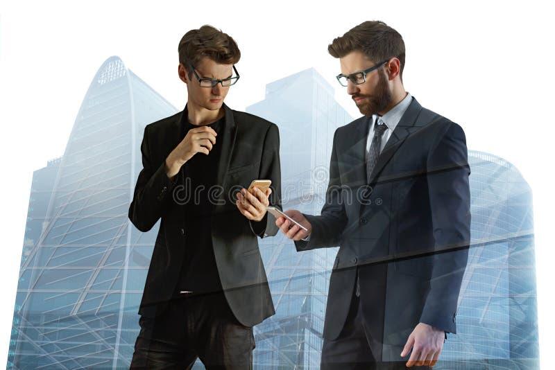 Concept de technologie et de communication photo stock