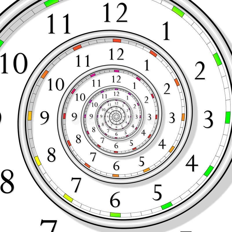 Concept de temps illustration libre de droits