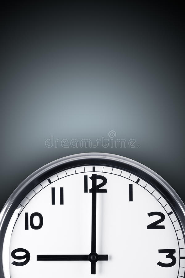 Concept de temps illustration stock