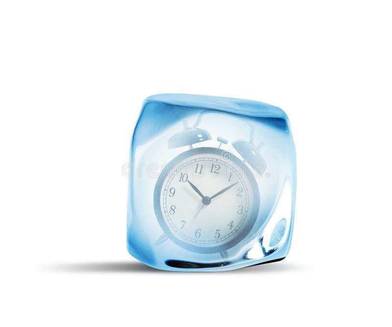 Concept de temps de gel image libre de droits