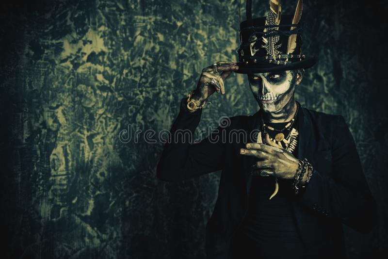Concept de traditions de Halloween image stock
