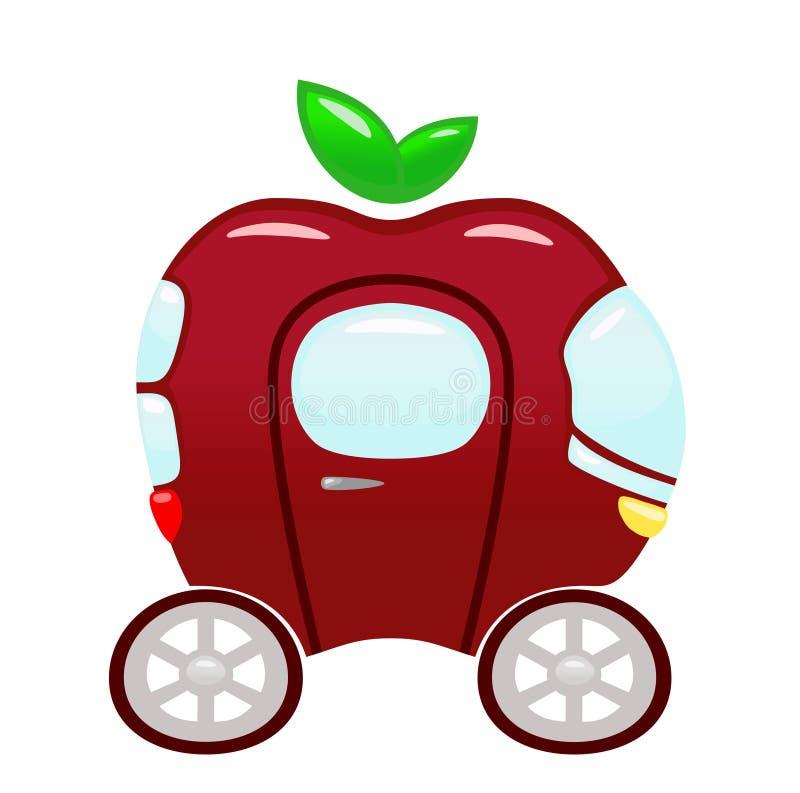 Concept de transport d'écologie illustration stock