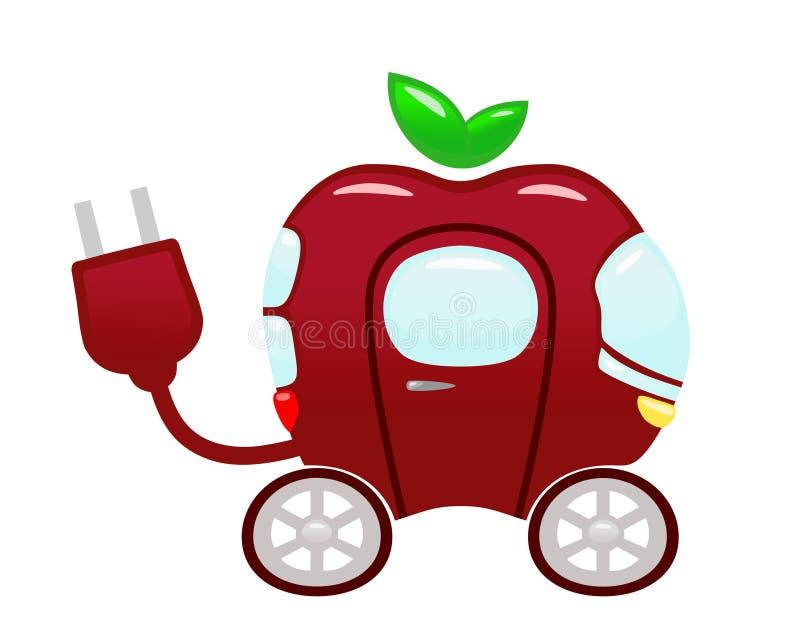 Concept de transport d'écologie illustration libre de droits