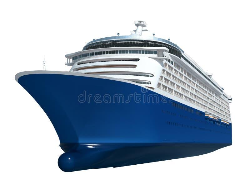 Concept de transport de voyage de vacances de bateau de croisière photos libres de droits