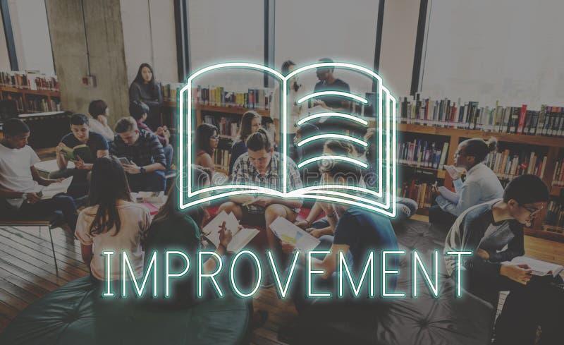 Concept de travail de projet d'éducation d'université de bibliothèque image libre de droits