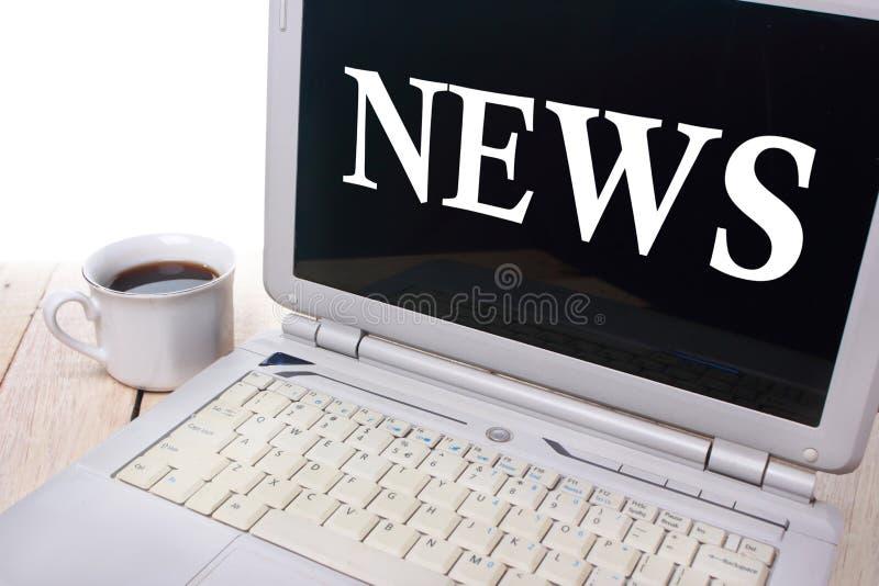 Concept de typographie d'actualités image stock