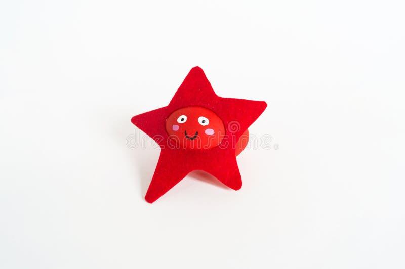 Concept de vacances de Pâques avec les oeufs faits main mignons : étoiles de mer d'animal de mer image stock