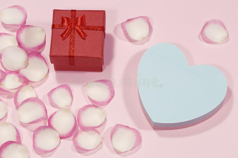 Concept de Valentine photos stock