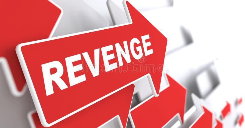 Concept de vengeance. illustration libre de droits