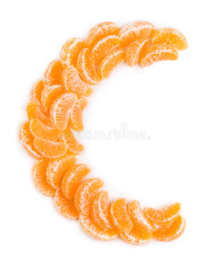 Concept de vitamine C photographie stock