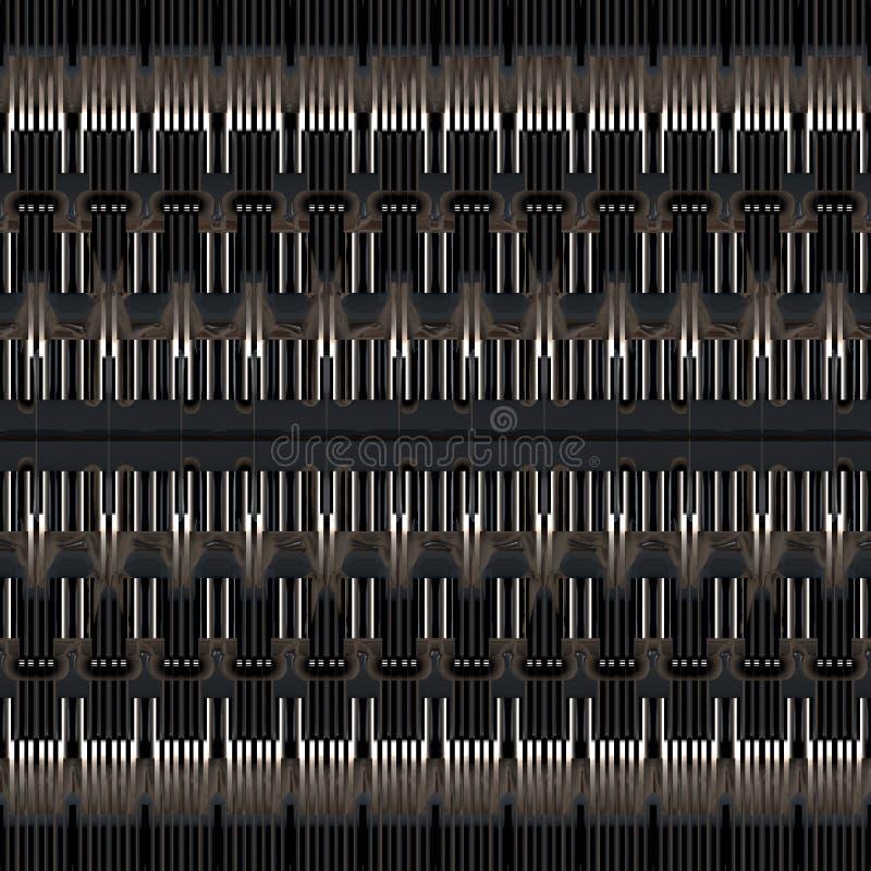 Concept de voies de données illustration de vecteur