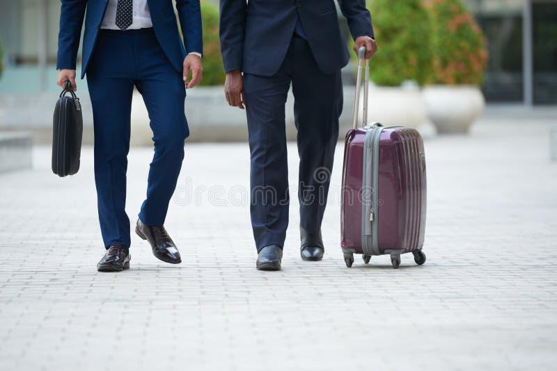 Concept de voyage d'affaires image stock