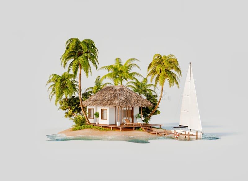 Concept de voyage et de vacances illustration stock