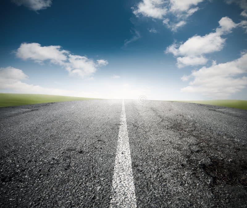 De weg voor het succes stock foto