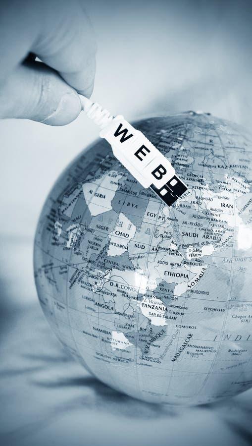 Concept de World Wide Web photographie stock libre de droits