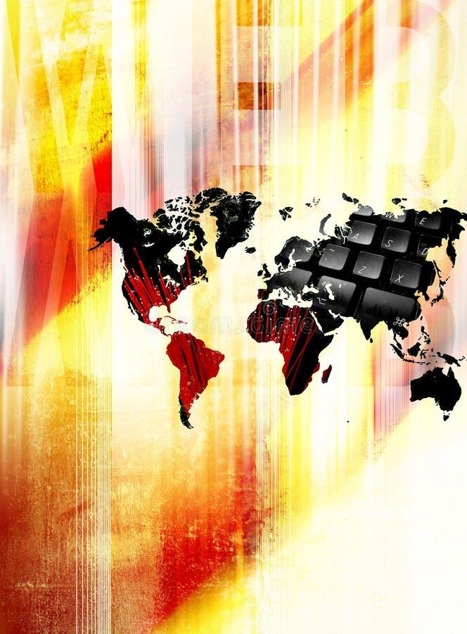 Concept de World Wide Web illustration libre de droits