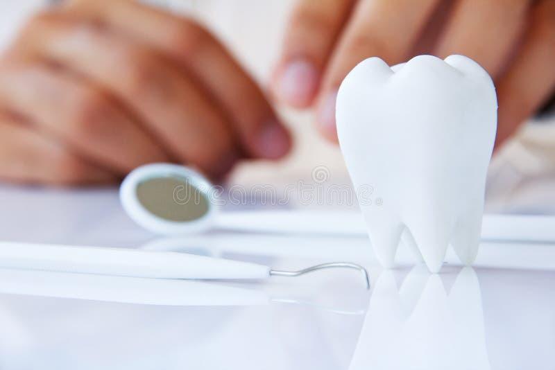 Concept dentaire photo stock