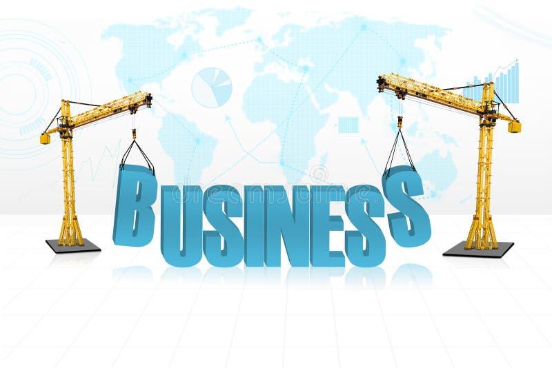 Concept de développement des affaires illustration libre de droits