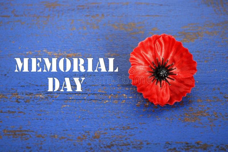 Concept des Etats-Unis Memorial Day photos stock