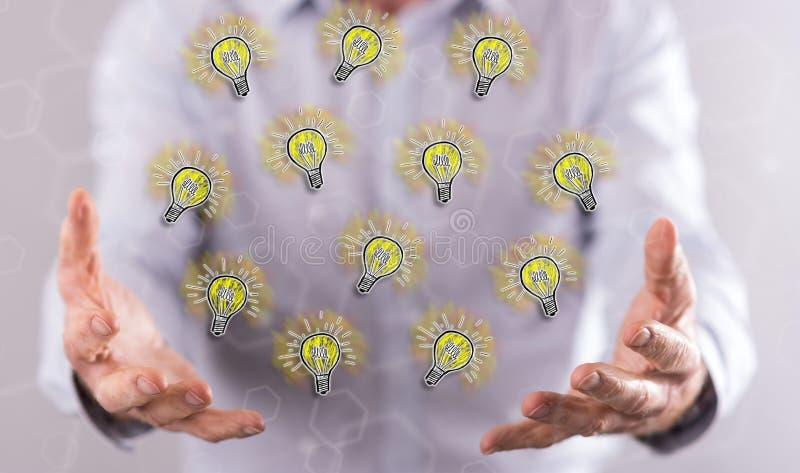Concept des idées innovatrices photo stock