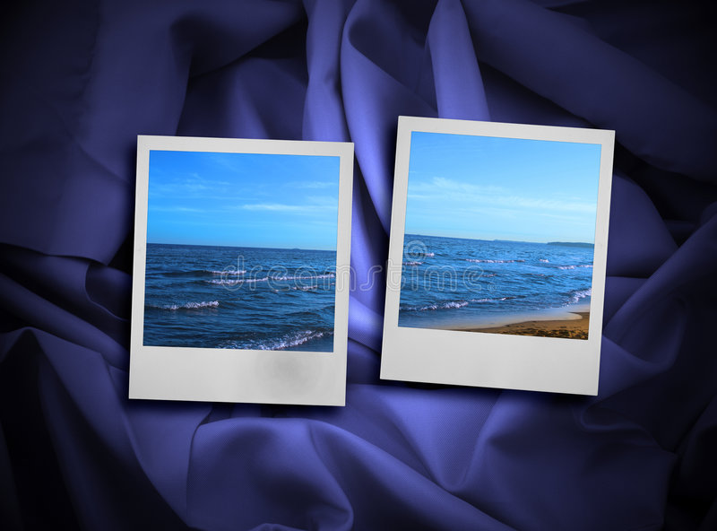 Concept des mémoires de vacances photographie stock libre de droits