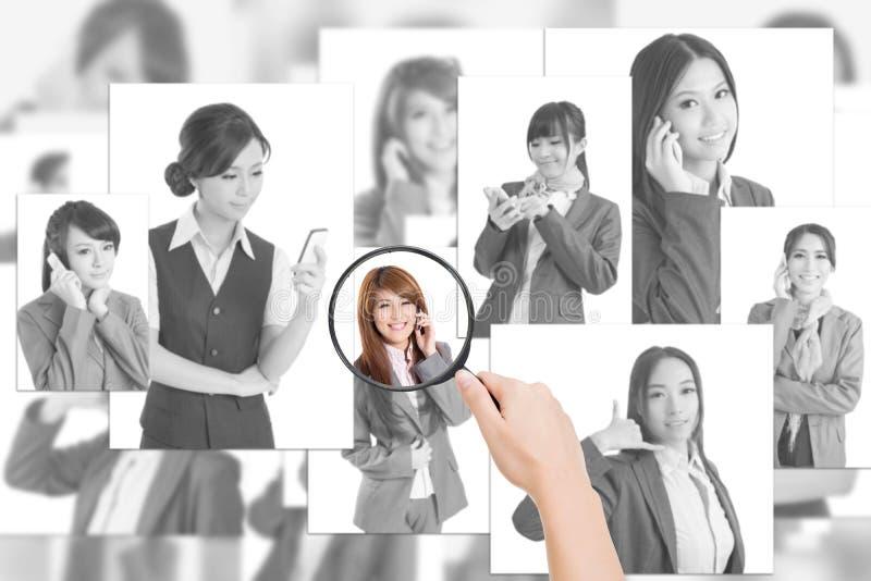 Concept des ressources humaines photographie stock