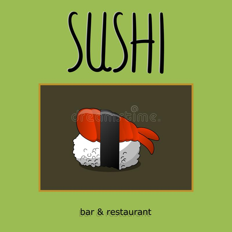 Concept design of the invitation sushi restaurant vector concept design of the invitation sushi restaurant vector illustration texture stopboris Image collections