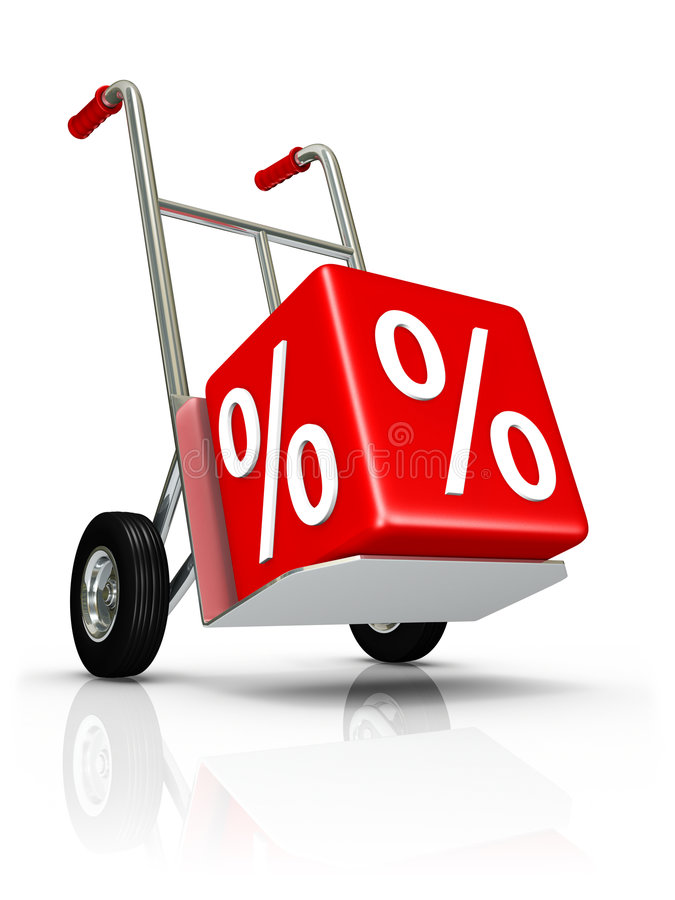 Concept of discount stock images
