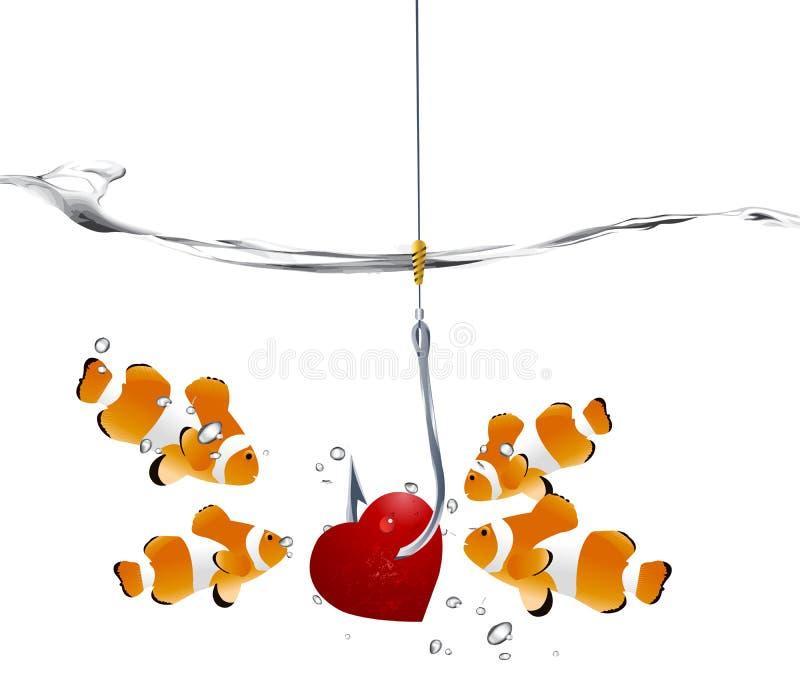 Concept du jour de Valentine illustration libre de droits