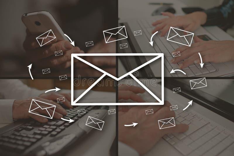 Concept e-mail stock foto
