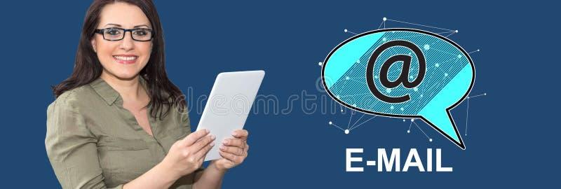 Concept e-mail royalty-vrije stock foto's