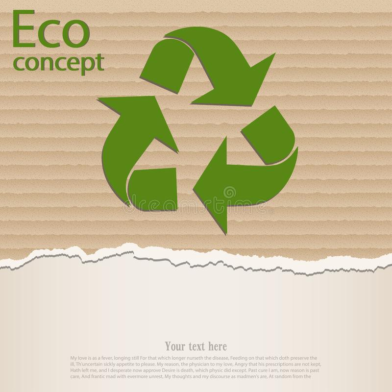 The concept of ecology vector illustration