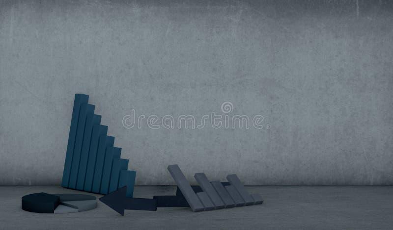 Download Concept Of Economic Failure Stock Illustration - Illustration: 26249061
