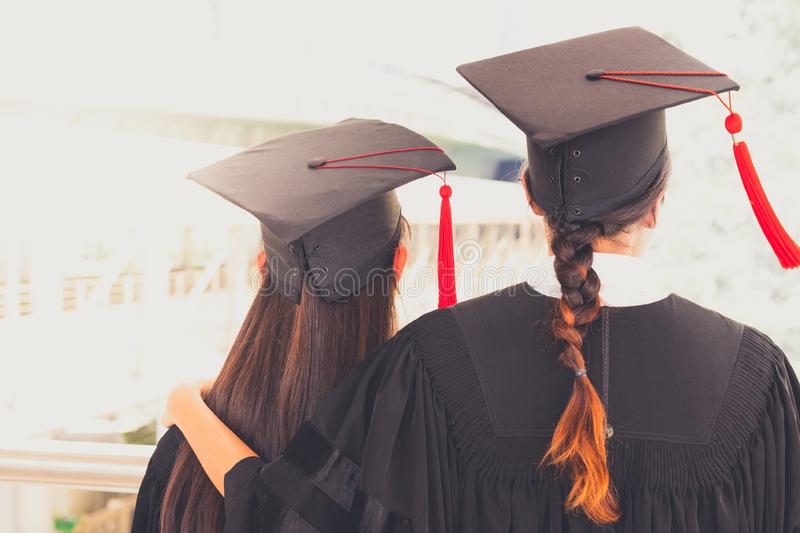 Concept education congratulation in University stock image