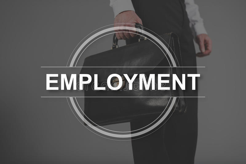Concept of employment royalty free stock photos