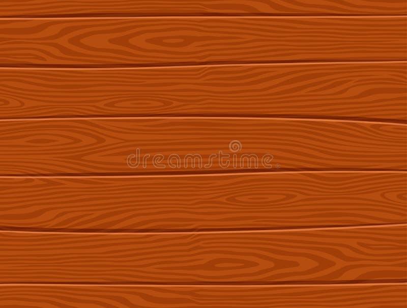Concept en bois brun de fond de vecteur illustration stock