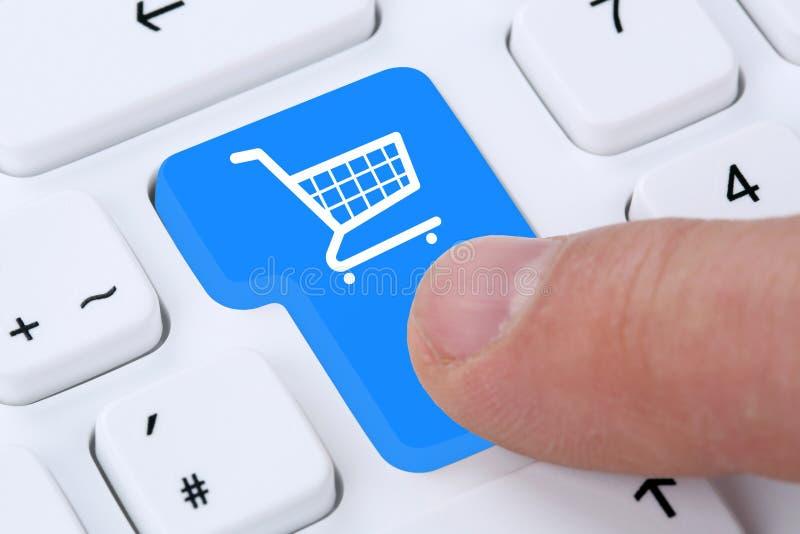 Concept en ligne de boutique d'Internet de bon d'achat d'achats