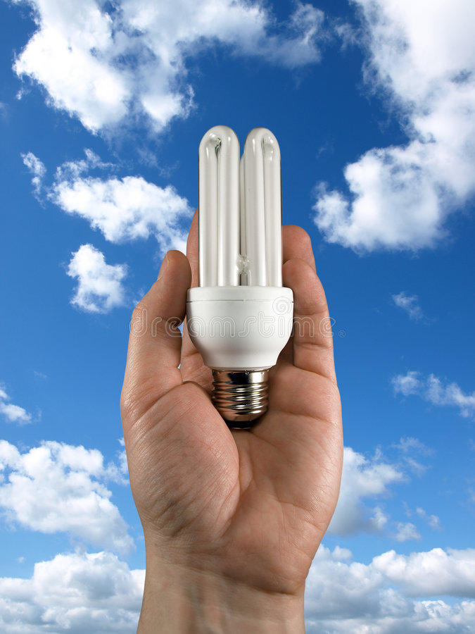 Download Concept of energy saving stock photo. Image of electricity - 7900696